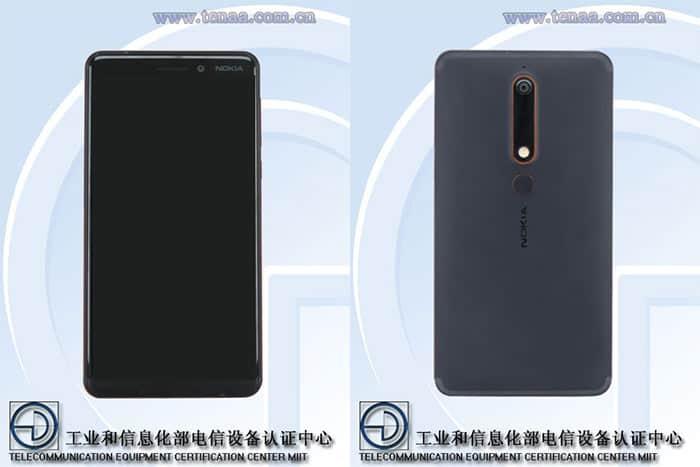 imagen Nokia 6 (2018)