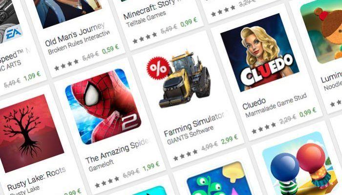 Google Play nos ofrece ofertas en aplicaciones y juegos durante 12 días
