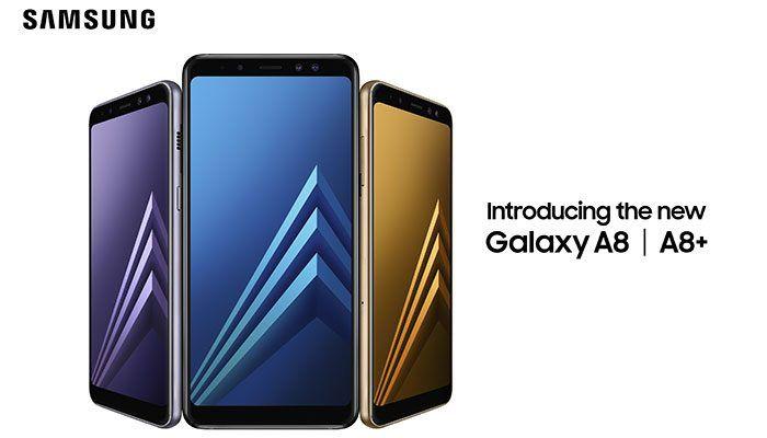Samsung Galaxy A8 (2018) y Galaxy A8+ (2018) son oficiales: Infinity Display y doble cámara delantera