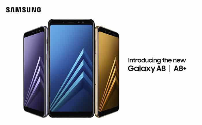 imagen Samsung Galaxy A8 (2018)