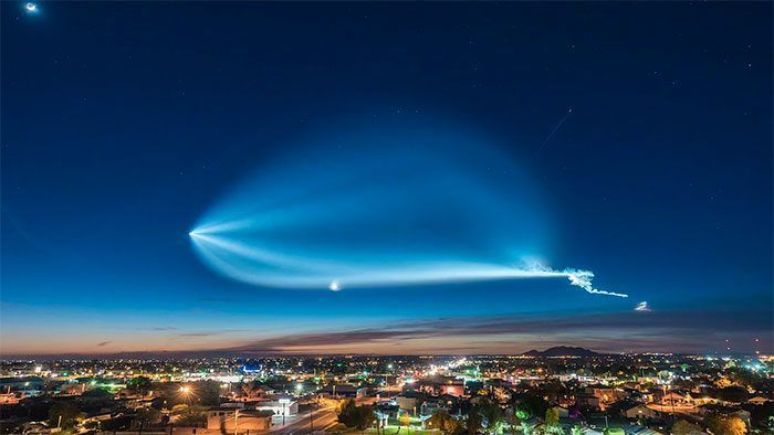 SpaceX y su ovni de mentira que dio tanto que hablar en Navidad