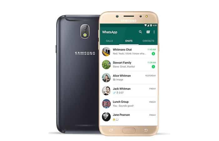 imagen Descargar WhatsApp para Samsung Galaxy J7