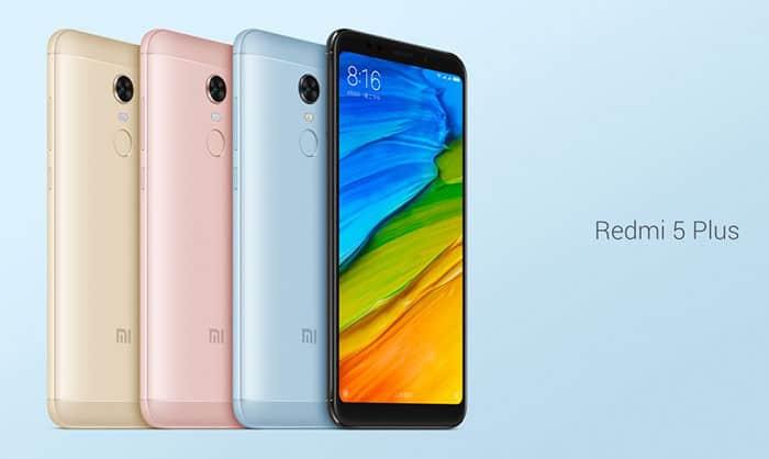 imagen Xiaomi Redmi 5 Plus