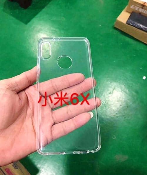imagen funda Xiaomi Mi 6X
