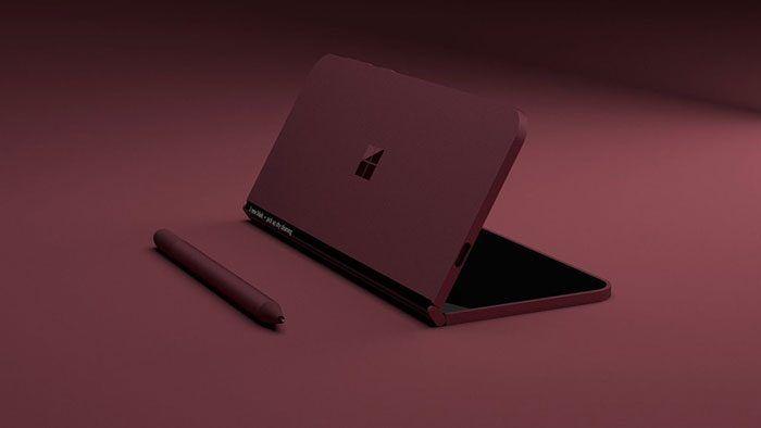 Microsoft trabaja en un dispositivo móvil plegable y prueba aplicaciones