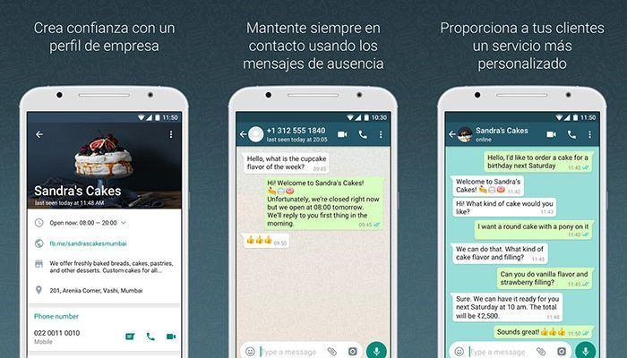 WhatsApp Business para Android se puede descargar en Google Play