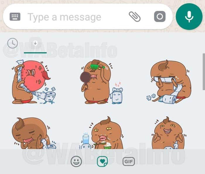 imagen stickers a WhatsApp para Android
