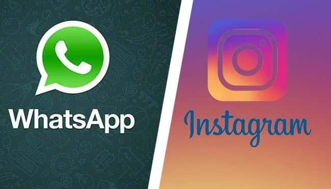 imagen WhatsApp o Instagram