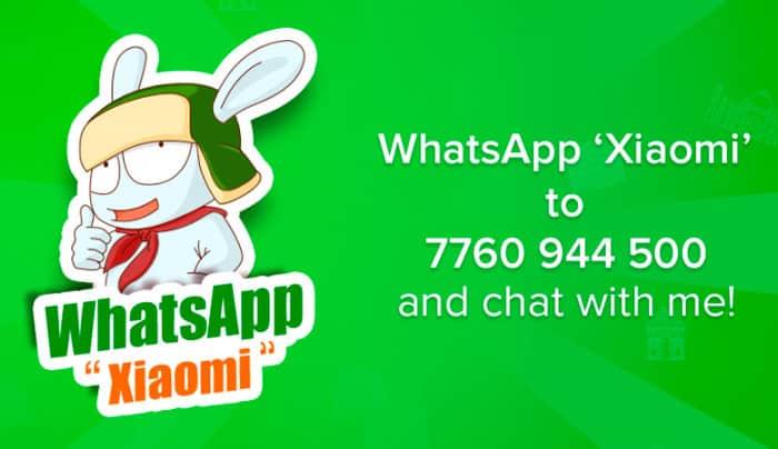 imagen WhatsApp Xiaomi