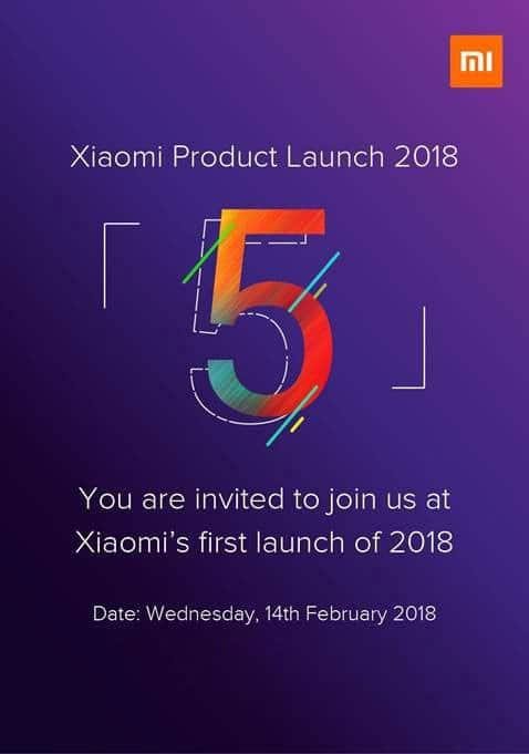 imagen invitacion Xiaomi Redmi Note 5