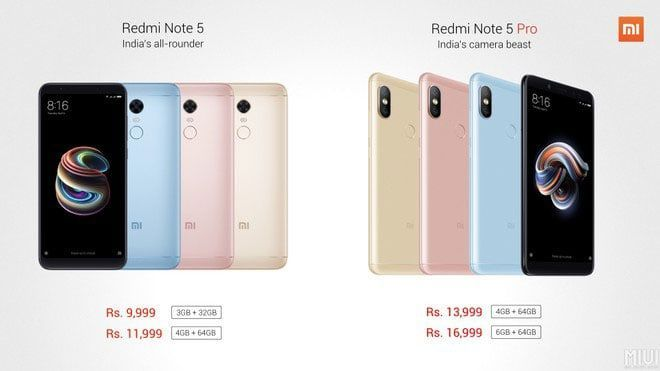imagen Xiaomi Redmi Note 5