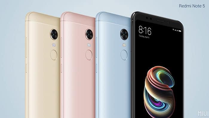 imagen Xiaomi Redmi Note5