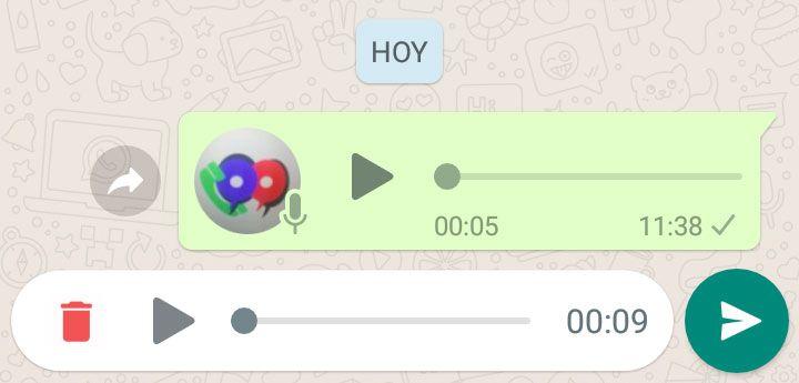 imagen whatsapp mensajes de voz
