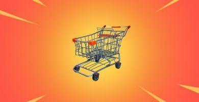 Fortnite carritos de la compra