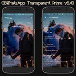 GBWhatsApp Transparent Prime