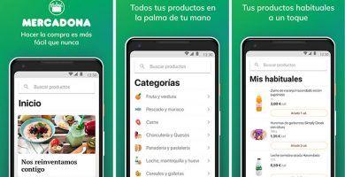 imagen aplicación de Mercadona