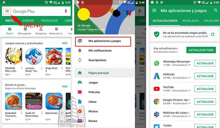 imagen Actualizar WhatsApp para Android
