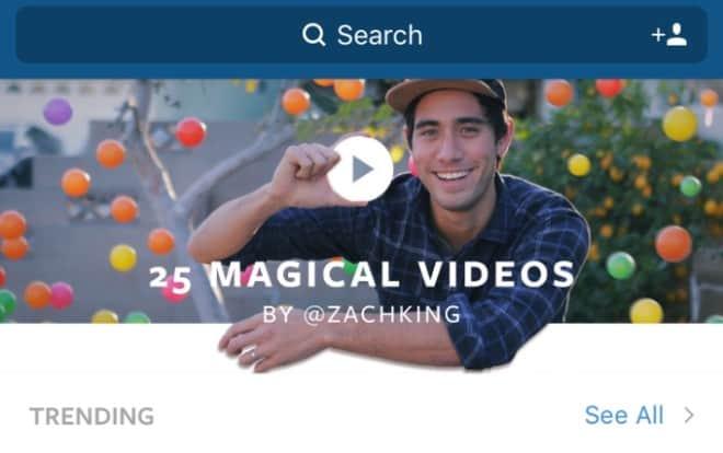 plataforma de vídeo de Instagram