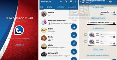 NS WhatsApp 3D v6.40