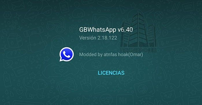 GBWhatsApp Plus versión 6.40