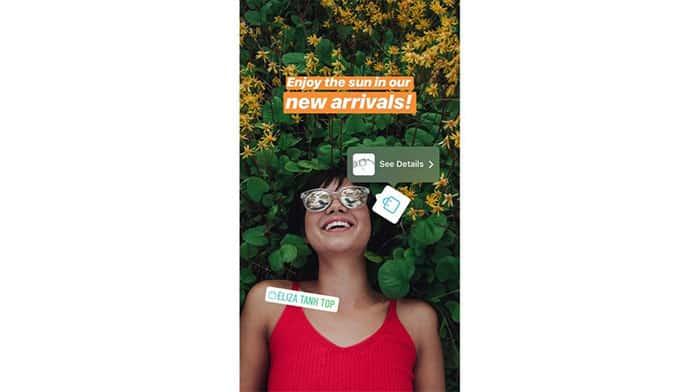 Instagram lleva de compras a las historias
