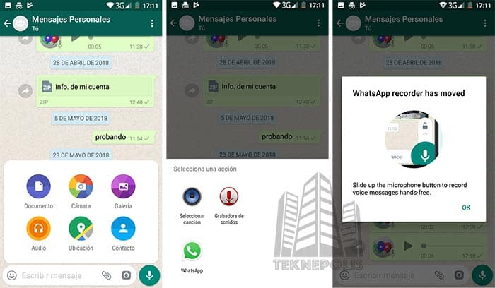 WhatsApp para Android Beta v2.18.171