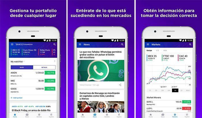 imagen Yahoo finanzas
