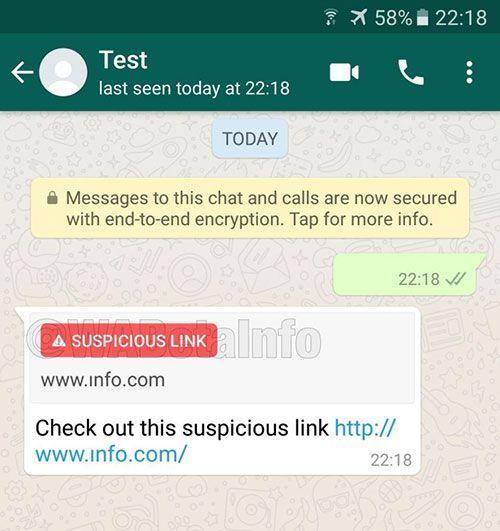 detectar enlaces sospechosos