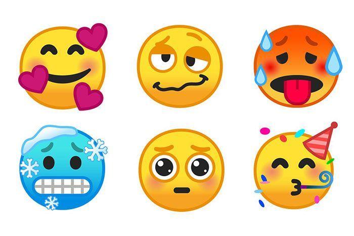 nuevos emojis en Emoji 11.0