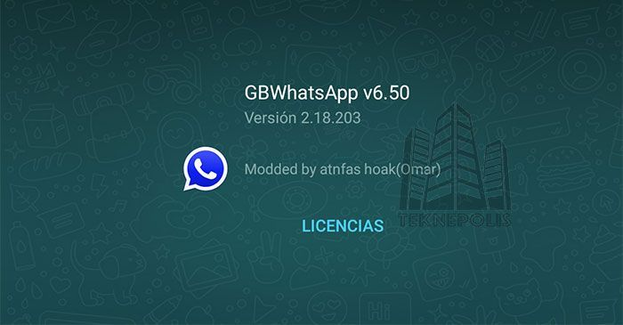 GBWhatsApp versión 6.50