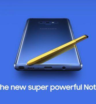 imagen Samsung Galaxy Note 9