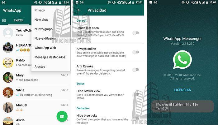 WhatsApp B58 Mini v13