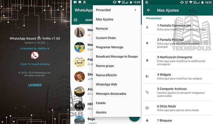 WhatsApp plus JiMODs 7.60
