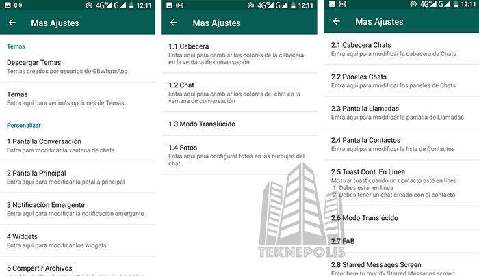 Personalizar WhatsApp Plus