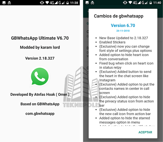 GBWhatsApp Ultimate 6.70
