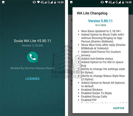 Soula Wa Lite Versión 58011 última Versión 2018