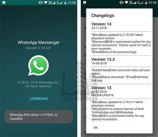 Descargar WhatsApp B58