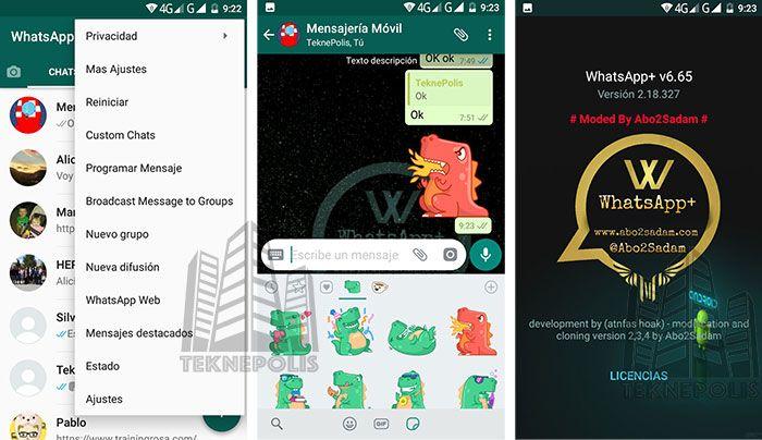 imagen WhatsApp Plus 2018