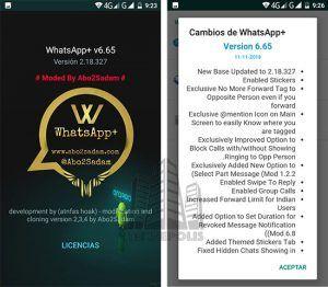 imagen WhatsApp Plus 6.65