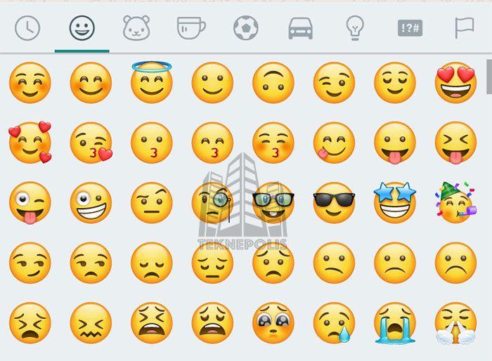 imagen nuevos emojis en WhatsApp para Android