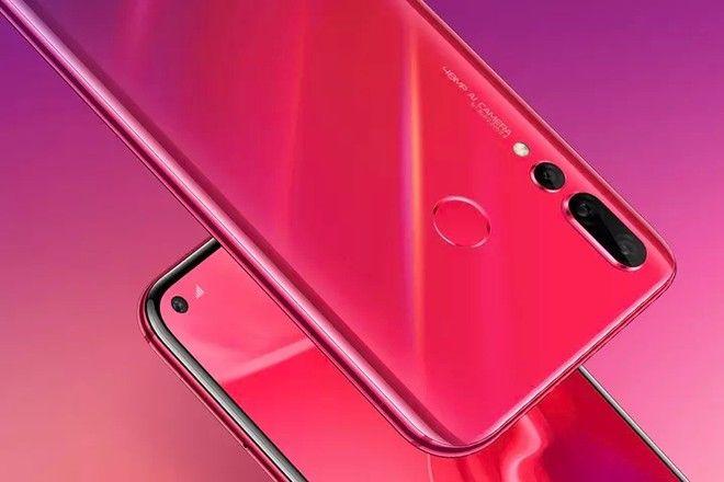 imagen Huawei Nova 4 Rojo