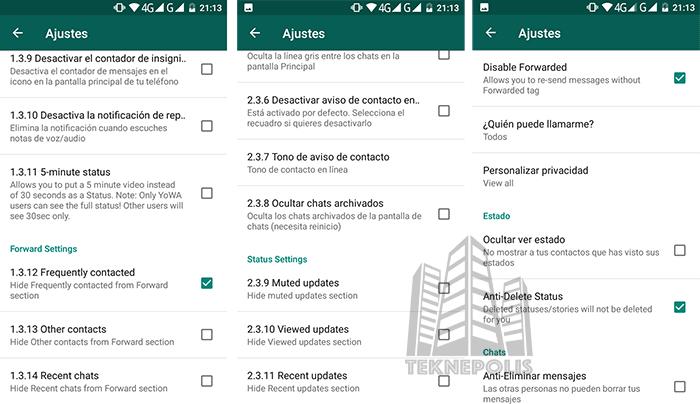 imagen de Novedades WhatsApp Plus JiMODs 7.81