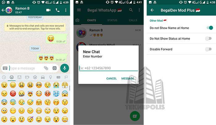 WhatsApp Begal