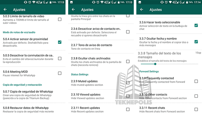 WhatsApp Plus JiMODs 7. 90