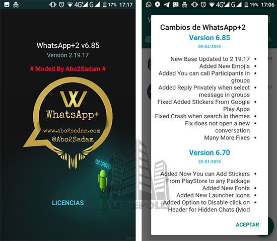 WhatsApp Plus 6.85