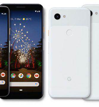 Google Pixel 3a y 3a X