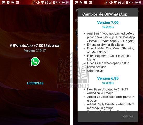 WhatsApp Transparente 7.00