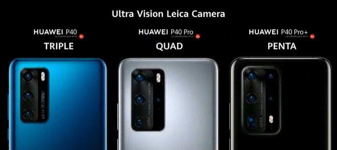 Huawei P40 camaras