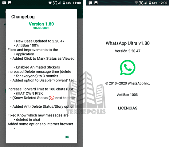descargar WhatsApp Ultra