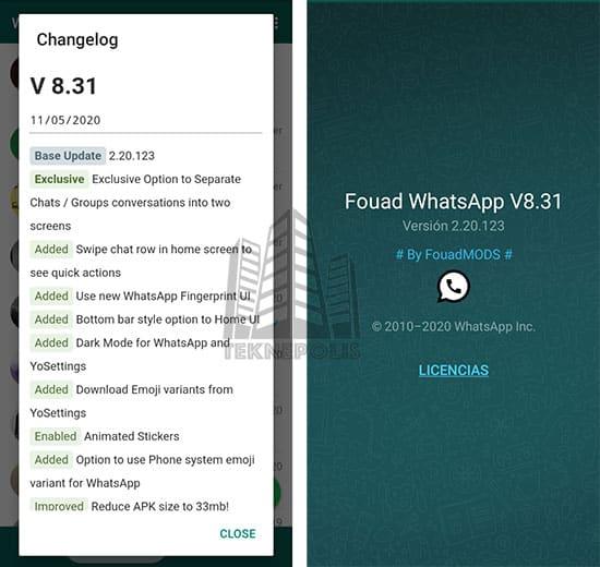 Fouad WhatsApp 8.31